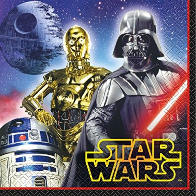 Star Wars Luncheon Napkins [16 Per Pack]