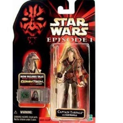 Star Wars Phantom Menace Captain Tarpals w/ Electropole
