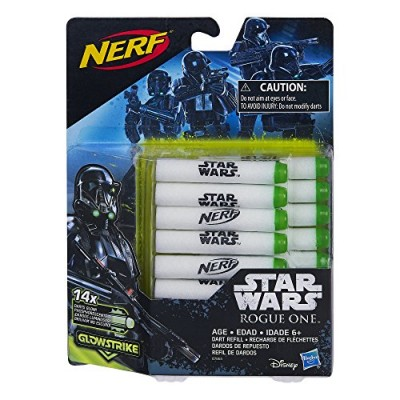 Star Wars Rogue One Nerf GlowStrike Dart Refill (14 Pack)