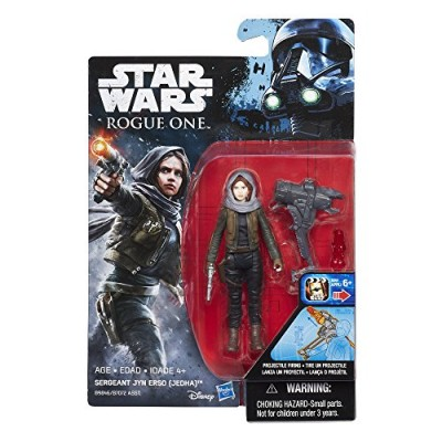 Star Wars Rogue One Sergeant Jyn Erso (Jedha) Figure