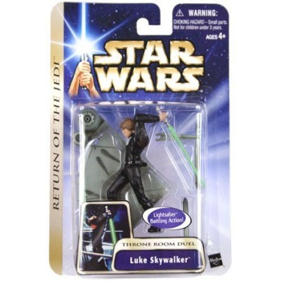 Star Wars - Saga Luke Skywalker (Throne Room Duel) Return of the Jedi Action Figure