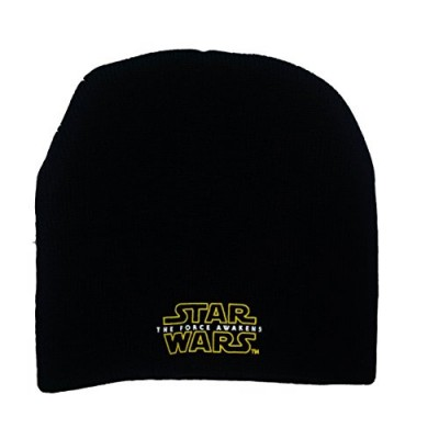 Star Wars The Force Awakens Unisex Black Beanie Skullcap Hat