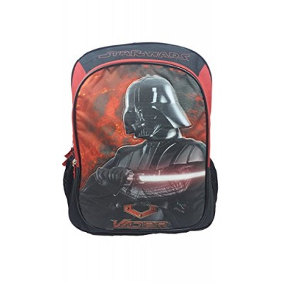 """Star Wars """"Vader"""" 16"""" Children's School Backpack"""