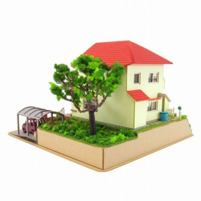 1/150 Sosuke Ponyo House Ponyo on a Cliff By the Sea Mk07-08