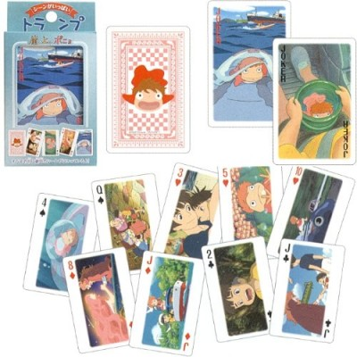 Studio Ghibli Playing Cards - Ponyo