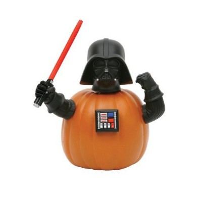 Darth Vader Pumpkin Push-in Star Wars Halloween Decoration