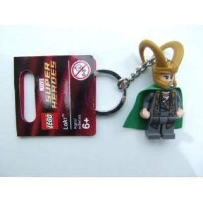 LEGO Loki Key Chain 850529 Marvel Super Heroes Mini Figure Keychain