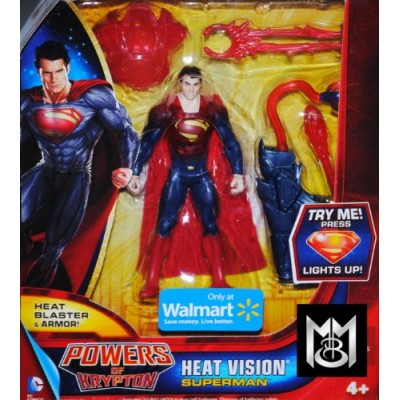 Superman Man of Steel Powers of Krypton Heat Vision Superman Exclusive