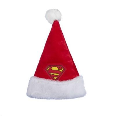 """Kurt Adler 16"""" Superman Santa Hat"""