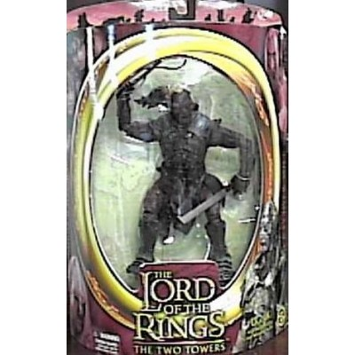 Lord of the Rings Two Towers Ugluk Action Figure with Sword Swinging Attack Action