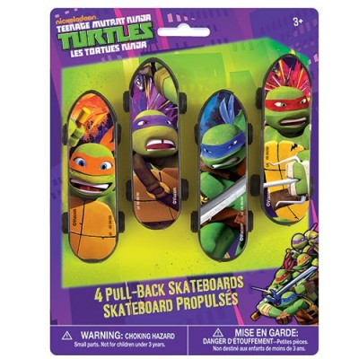 Mini Teenage Mutant Ninja Turtles Skateboards, 4ct
