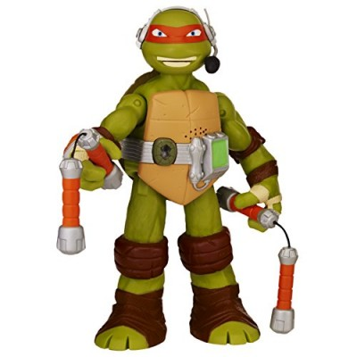 "Teenage Mutant Ninja Turtles 11"" Michelangelo Infrared Talking Turtles Figure"