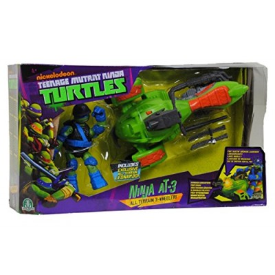 Teenage Mutant Ninja Turtles Ninja AT3 Vehicle with Leo Figure