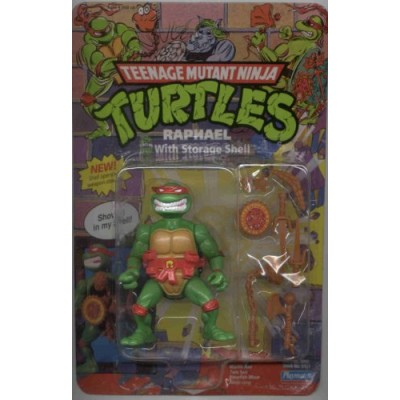 "Teenage Mutant Ninja Turtles ""Raphael, with Storage Shell"" (1991)"
