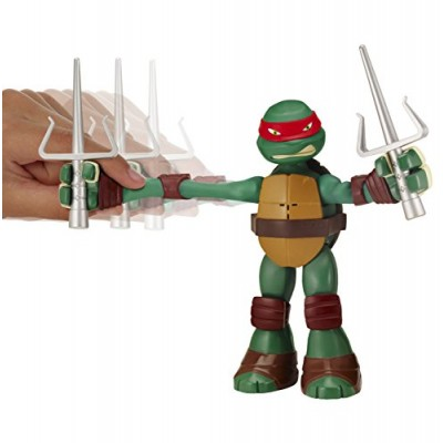 Teenage Mutant Ninja Turtles Stretch N' Shout Raphael Figure