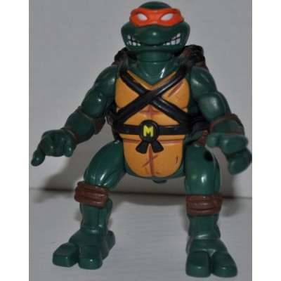 Vintage Ninja Action Black Belt Boxer Mike Michaelangelo (1993) Action Figure - Playmates - TMNT - Teenage Mutant Ninja Turtles Collectible Figure ...