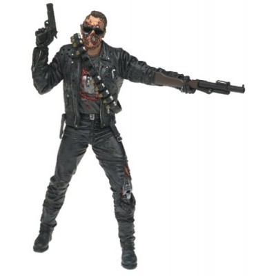 McFarlane Movie Maniacs Series 4 T2 Terminator 2 Judgment Day T800