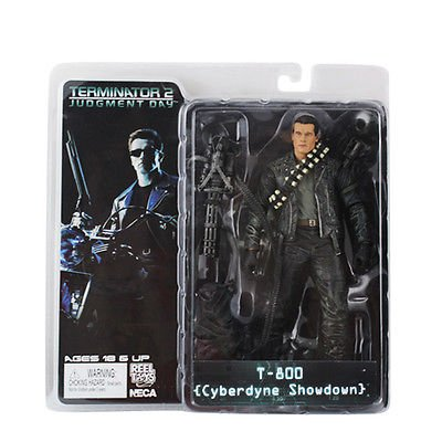 NECA Terminator 2: Judgement Day Series 2 Action Figure T-800 Cyberdyne Showdown