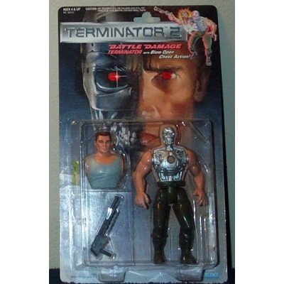 Terminator 2 Battle Damage Blow Open Chest Action Figure