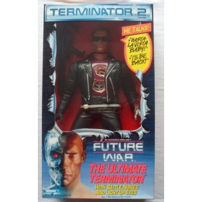 "Terminator 2 The Ultimate Terminator with Battle Noises 14"" Action Figure"