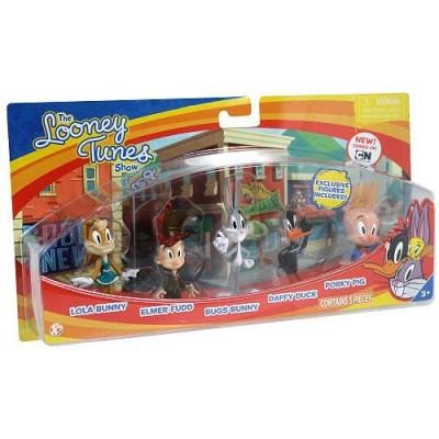 Looney Tunes Figure 5 Pack - Bugs Bunny, Lola Bunny, Daffy Duck, Porky Pig and Elmer Fudd