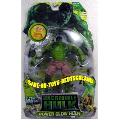 Incredible Hulk Movie Action Figure Power Glow Hulk