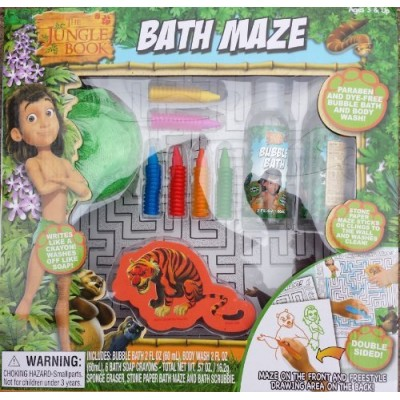 The Jungle Book Super Fun Fun!! Bath Maze Activity Gift Set