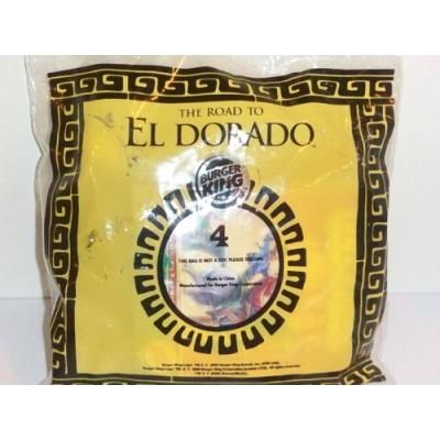 2000 Burger King Kid's Club Toy: The Road to El Dorado- Sabor Rattling Tulio and Headbutting Bull #4