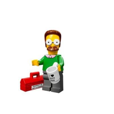 Lego The Simpsons Ned Flanders Blind Bag Mini-Figure