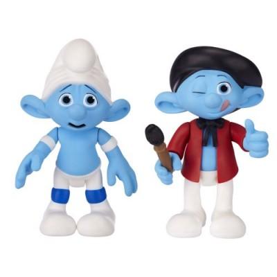 Smurfs Movie Basic Figure Pack Wave #2 Panicky Smurf And Painter Smurf