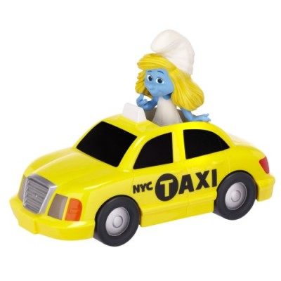Smurfs Movie Theme/Adventure Gift Packs Wave #2 Smurfette In NYC Bus Tour Theme Set