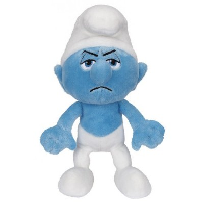 "The Smurfs Movie Jumbo Wave 1 Grouchy 21"""