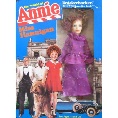 Little Orphan Annie MISS HANNIGAN DOLL - The World of Annie (1982 Knickerbocker)