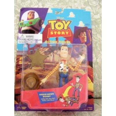 1995 Toy Story Action Figure - Knock-Down Woody