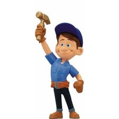 "Thinkway Wreck-It Ralph Action Figure - Fix-It Felix 3"" Figure"
