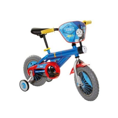 Thomas The Train Boy's Bike, 12-Inch, Blue/Red/Yellow