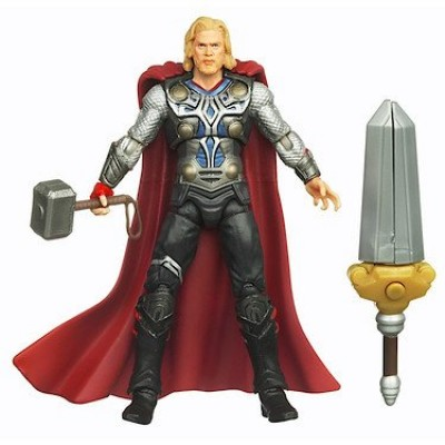 Thor: The Mighty Avenger Action Figure #02 Sword Spike Thor 3.75 Inch