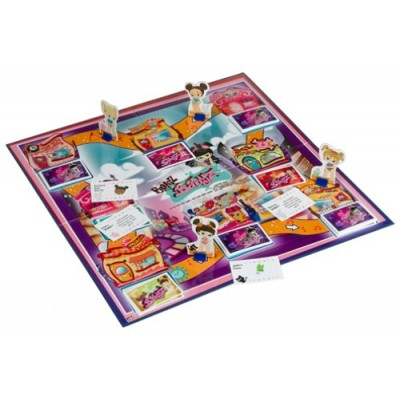 Bratz Babyz Stylin' Scavenger Hunt Board Game