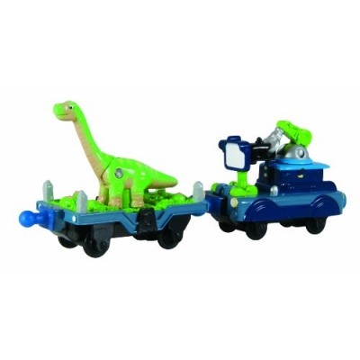 Chuggington StackTrack  Dinosaur and Camera Car
