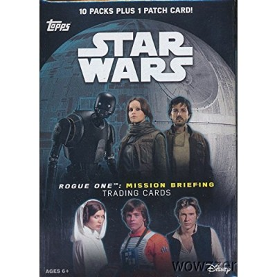 2016 Topps Star Wars Road To Rogue 1 Blaster Box Cards