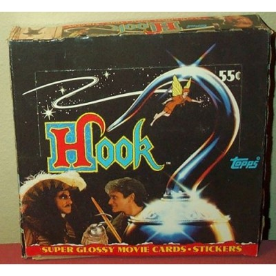Hook Super Glossy Movie Trading Cards Box -36 Count