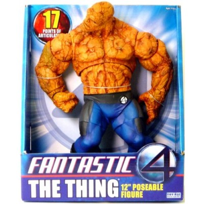 "Fantastic 4: Deluxe Roto - 12"" Thing Action Figure"