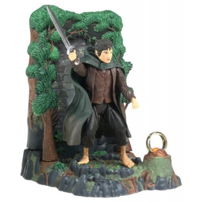 Lord of the Rings Frodo with Drawn Sword - Fellowship of the Ring
