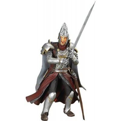 Lord of the Rings Trilogy Fellowship of the Ring Action Figure King Elendil (Sword Slashing)