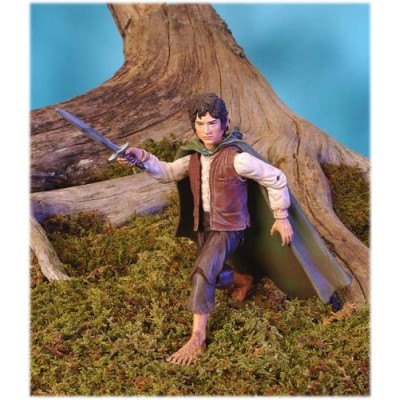 Lord of the Rings Two Towers Action Figure Frodo with LightUp Sting Sword