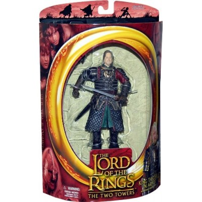 Lord of the Rings Two Towers Action Figure King Theoden in Armor