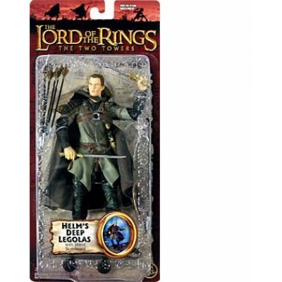 The Lord of the Rings - The Two Towers - Helm's Deep Legolas with Shield Skateboard
