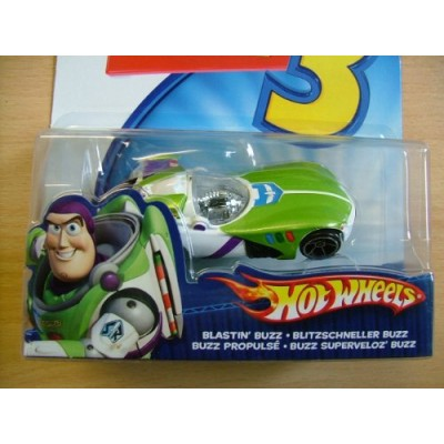 Disney / Pixar Toy Story 3 Hot Wheels Die Cast Vehicle Blastin Buzz