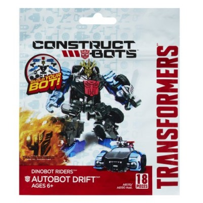 Transformers Age of Extinction Construct-Bots Dinobot Riders Autobot Drift Buildable Action Figure