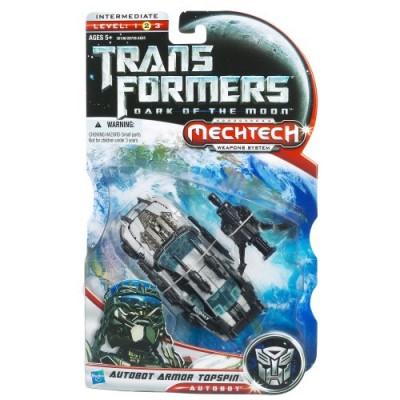 Transformers Dark of the Moon Mechtech Deluxe Class Autobot Armor Topspin Figure